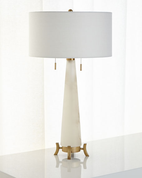 Alabaster Table Lamp