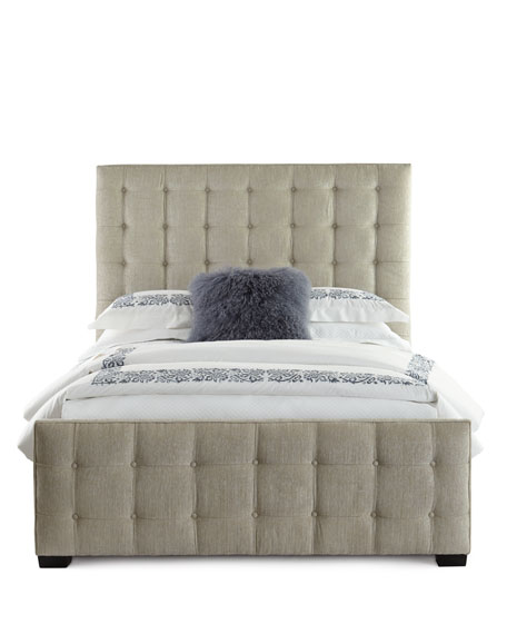 Caleb Tufted Queen Bed