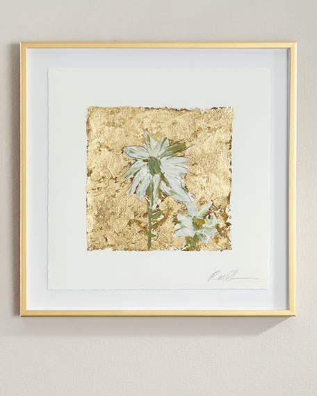 """Gold and Cones"" Giclee on Paper Wall Art"