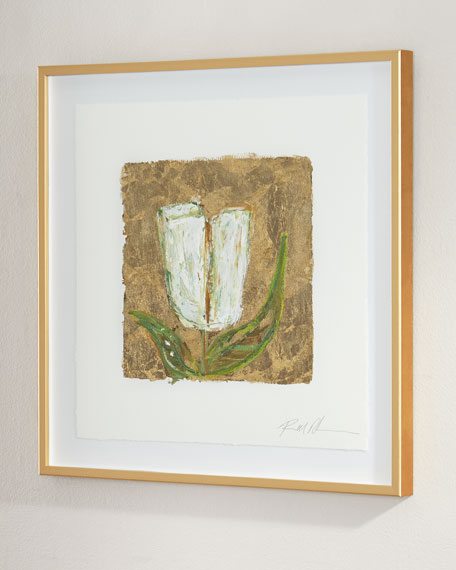"""Gold and Tulips"" Giclee"