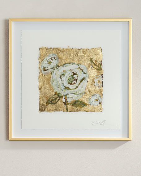 """Gold and Roses"" Giclee"