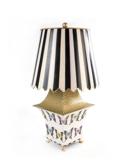 Large Butterfly Collection Lamp