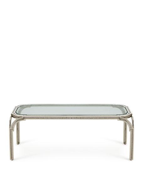 Garnet Forged-Pearl Coffee Table
