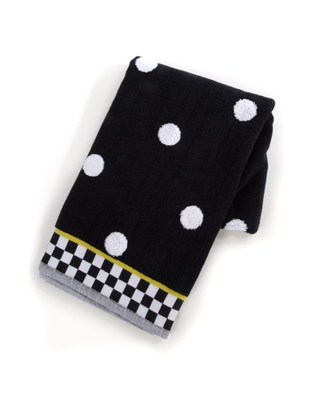 MacKenzie-Childs Dotty Bath Towel