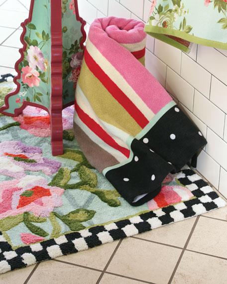 MacKenzie-Childs Chelsea Garden Bath Rug