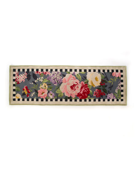 "Tudor Rose Runner, 2'8"" x 8'"