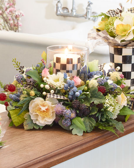 Meadow Candle Centerpiece