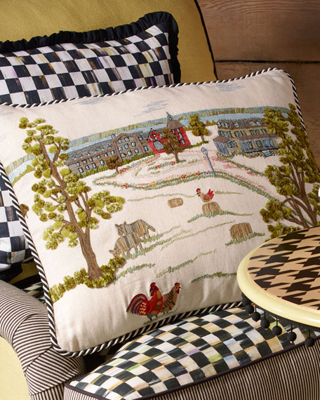 MacKenzie-Childs MacKenzie-Childs Farm Pillow