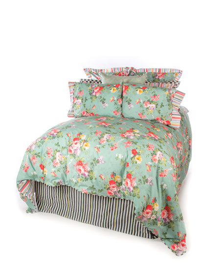 Queen Chelsea Garden Duvet Cover
