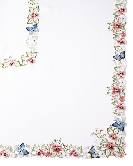 "Monarch 72"" x 126"" Tablecloth & 12 Napkins"