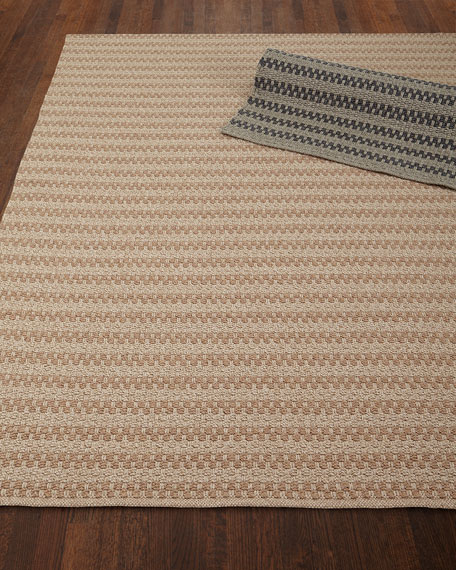 Deja Mirage Tweed Indoor/Outdoor Rug, 7' x 9'6