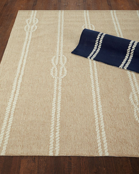 Knot & Rope Indoor/Outdoor Rug, 5' x 7'6""