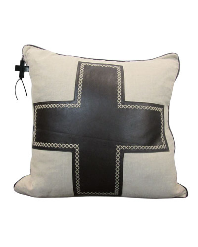 Black Cruz Pillow