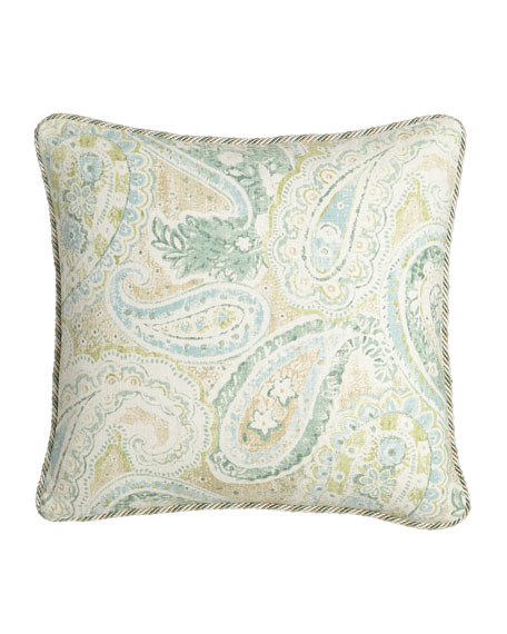 Bliss Paisley Pillow, 18