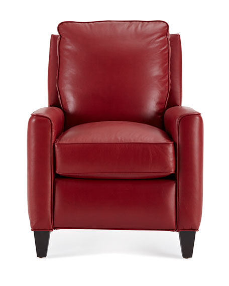 Lennon High-Leg Leather Recliner