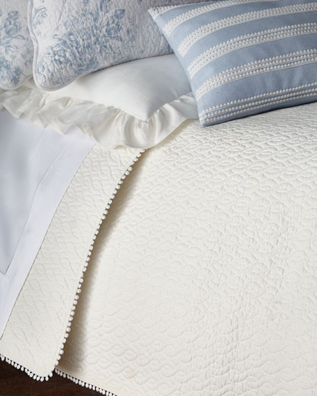 Twin 3-Piece Darvy Cable Quilt Set