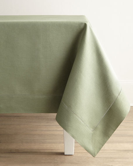 "Hemstitched Tablecloth, 66"" x 106"""