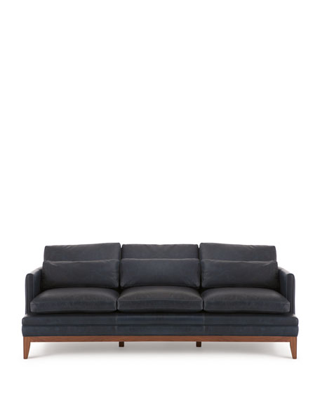 Leather Furniture Company: The Eleanor Rigby Leather Company Carlyn Leather Sofa