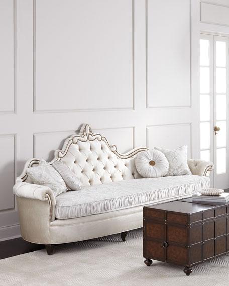 Haute House Josephine Tufted Back Sofa 111