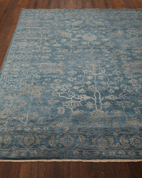 Cece Magnolia Wool Rug, 9' x 12'