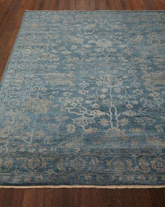 Cece Magnolia Wool Rug, 10' x 14'