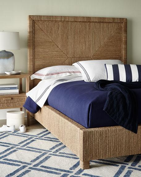 Palecek Decklin Rope-Wrapped King Bed