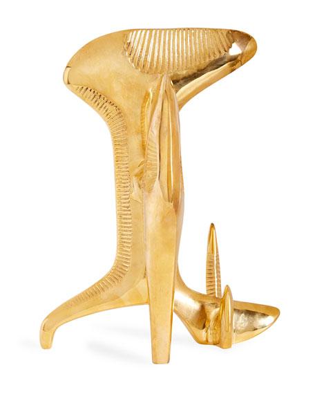 Reform Brass Sculpture