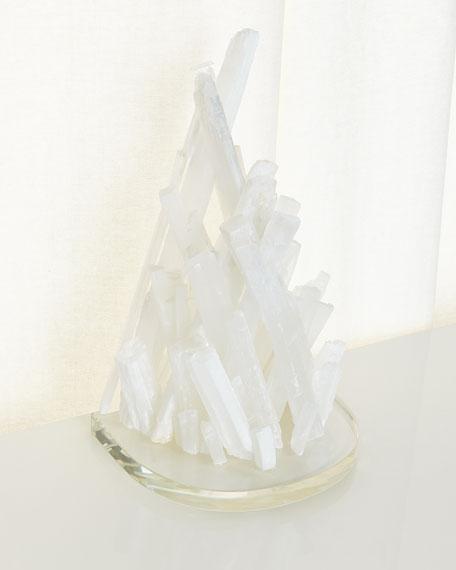 Selenite Acrylic Corbel