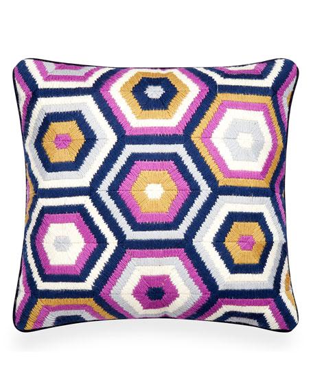 Honeycomb Bargello Pillow
