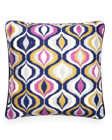 Waves Bargello Pillow