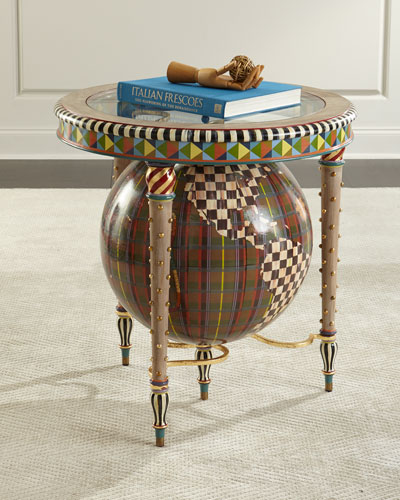 Plaiditudes Side Table