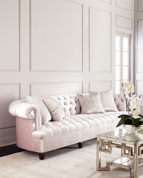 Haute House Mia Tufted Sofa 118.5