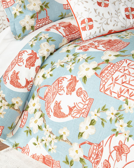 Jane Wilner Designs King Mikado Duvet Cover