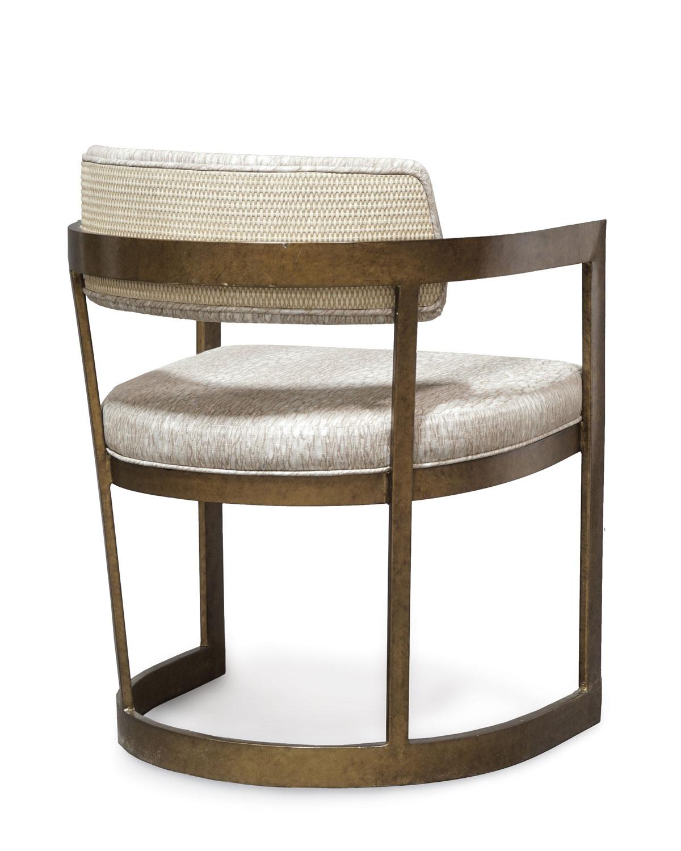 Palecektay Golden Arm Chair