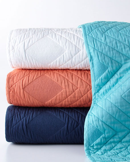 King Luisa Quilted Coverlet