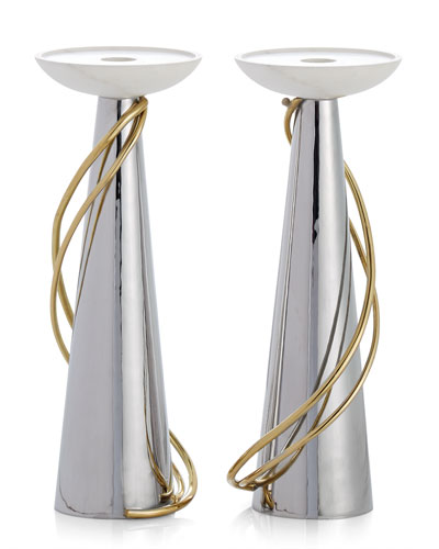 Calla Lily Candleholders  Set of 2