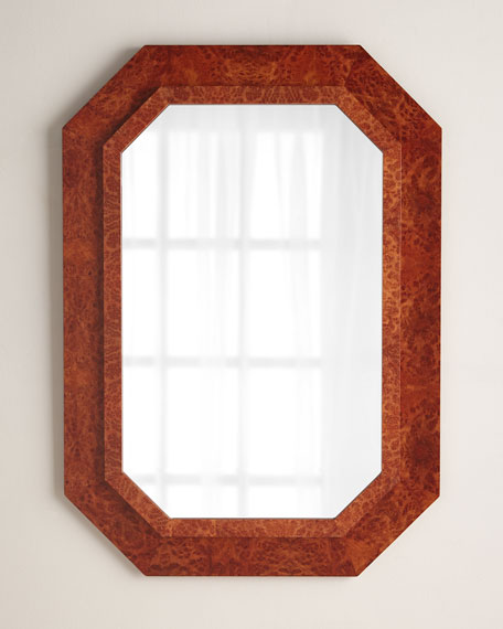 Burl Wood Mirror