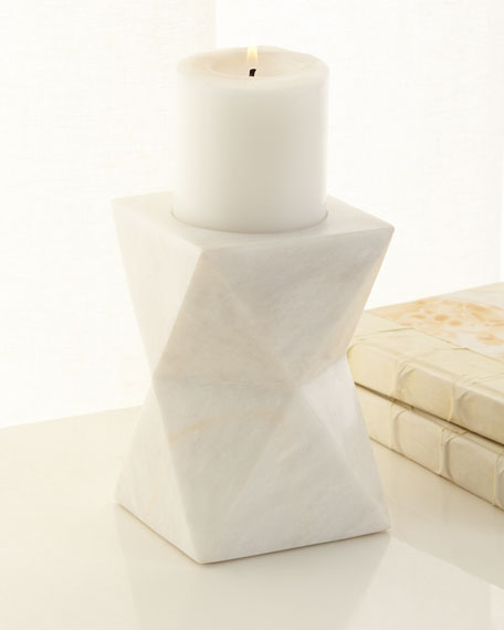 Marble Candle Holder