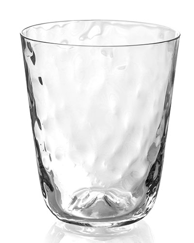 Ripple Effect Highballs Cocktail Tumblers  Set of 4