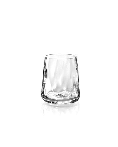 Ripple Effect Double Old-Fashioneds  Set of 4