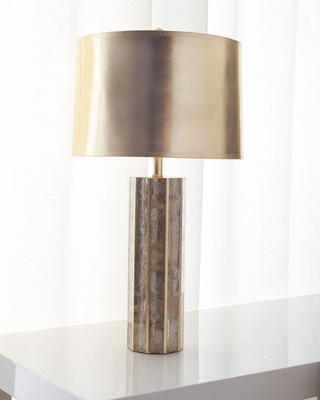 Designer table lamps at horchow light mica table lamp aloadofball Images