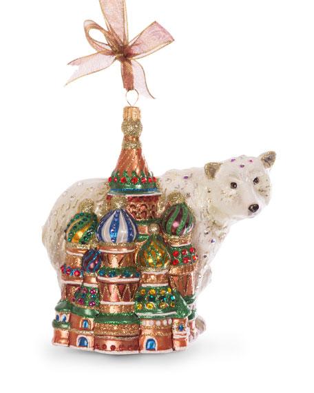 Palace Polar Bear Ornament