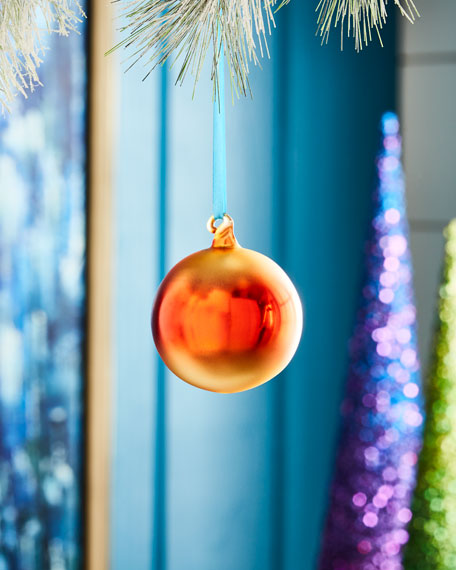 Ombre Christmas Ornament, Red