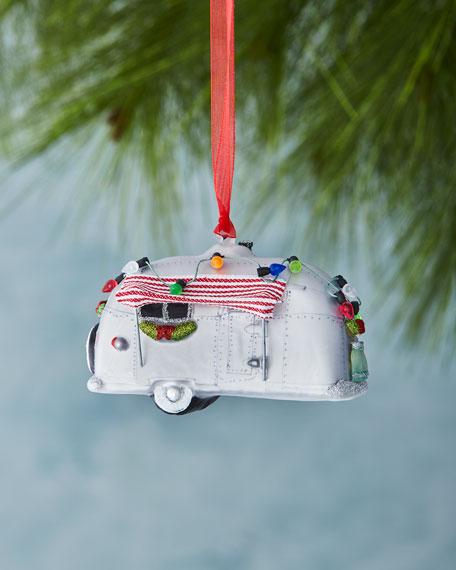 Holiday Trailer Christmas Ornament