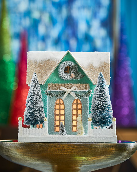 Frosty Cottage Collectible