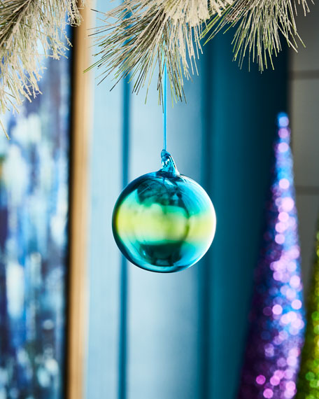 Ombre Ornament, Blue