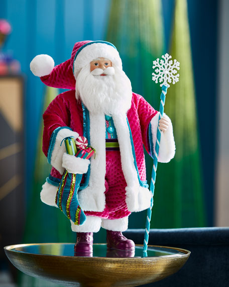 Playful Brights Collection Santa, 18""