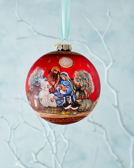 Story of Nativity Ornament