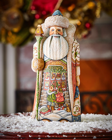 Limited-Edition Hand-Carved Santa