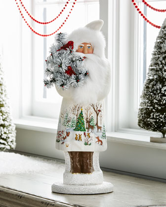 Santa with Forest Friends Collectible